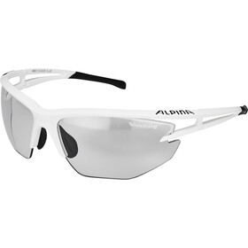 Alpina Eye-5 HR VL+ Aurinkolasit, white matt-black/black